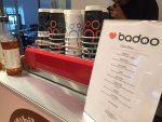 Badoo-branded-cups-and-menu-mobile-coffee-bar-hire