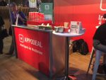 Exhibition mobile coffee service and barista coffee hire for Appodeal
