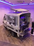 Exhibition mobile coffee service and barista coffee hire for Oatly