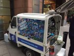London Makes It Possible branded mobile coffee van hire