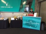 Supercar trackday Greystone GT branded mobile coffee bar hire