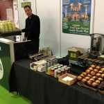 The Mobile Coffee Bean Build It Live Kloeber pop-up coffee and muffins
