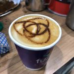 The Mobile Coffee Bean Fuze bespoke latte art UC EXPO ExCel, London