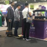The Mobile Coffee Bean Fuze popular mobile coffee bar UC EXPO ExCel, London