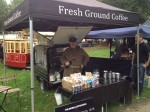 Mobile coffee cart hire for fairs, festivals and fetes