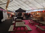 Mobile coffee cart hire for Handmade Christmas event at the O2 Arena London
