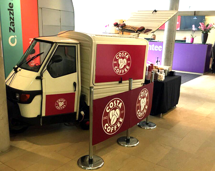 The Mobile Coffee Bean mobile coffee service for Costa Coffee