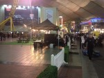 Mobile coffee van hire for an event at the O2 Arena London
