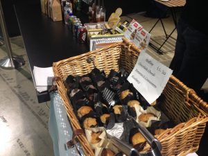 The Mobile Coffee Bean mobile coffee muffins for shows, events and exhibitions